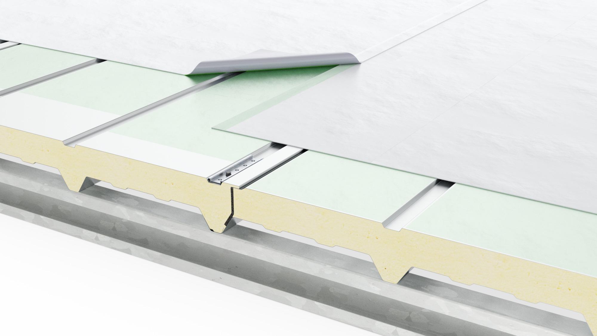 GlobalRoof Ondatherm Deck System 3D