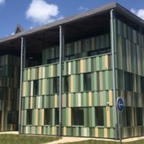Bâtiment de l'administration de l'université de Guyane - Cayenne