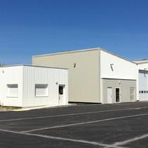 Hangar du centre d'exploitation du Neubourg
