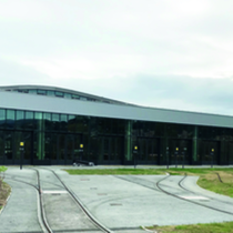 Charles Ginésy tramway maintenance facility - Nice