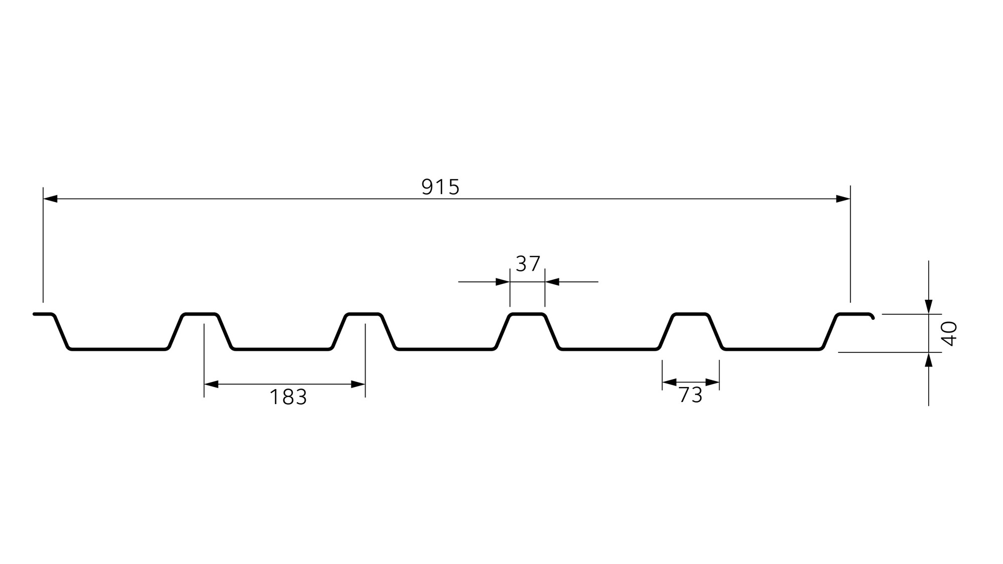 2D Trapeza 40/183 T