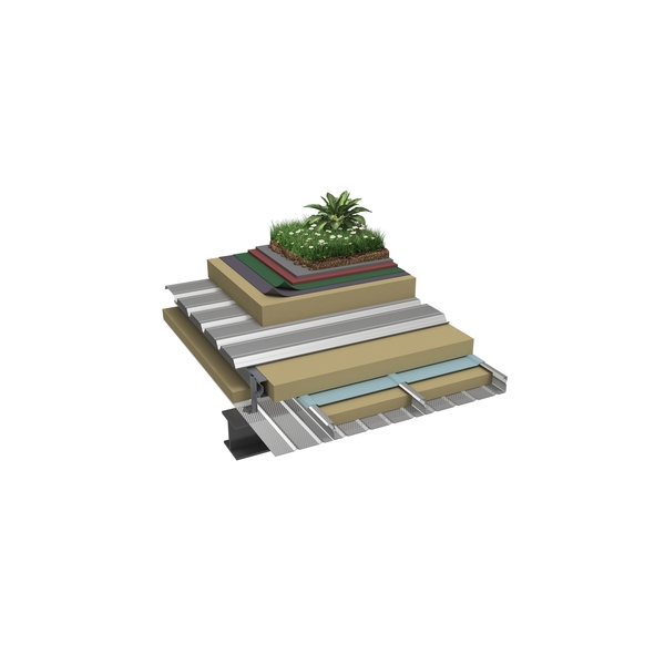 Globalroof® CIN 324PR Vegetalisation