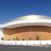 Commercial Center Leclerc Oceanides