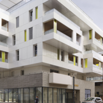 Edificio residencial Luminescence - Montpellier