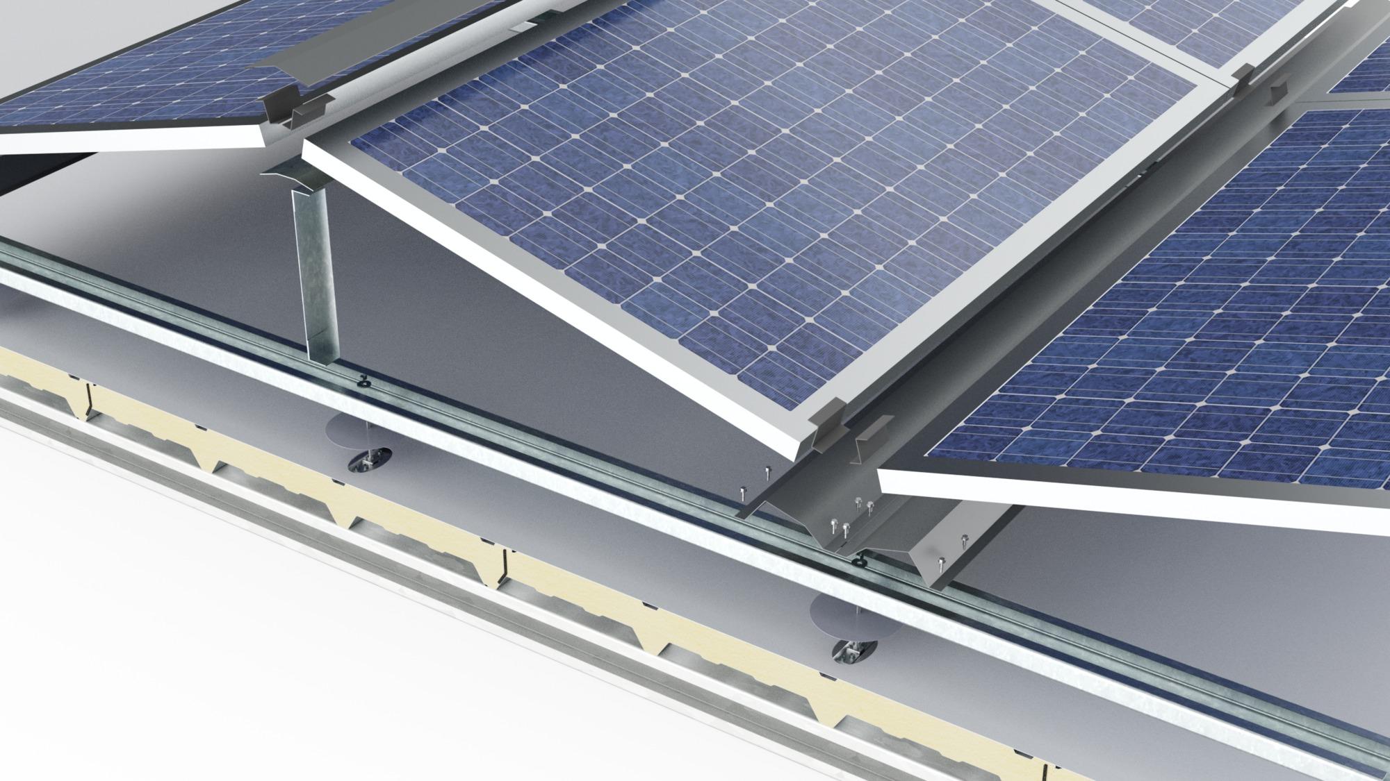 GlobalRoof Ondatherm Deck Solar 3D