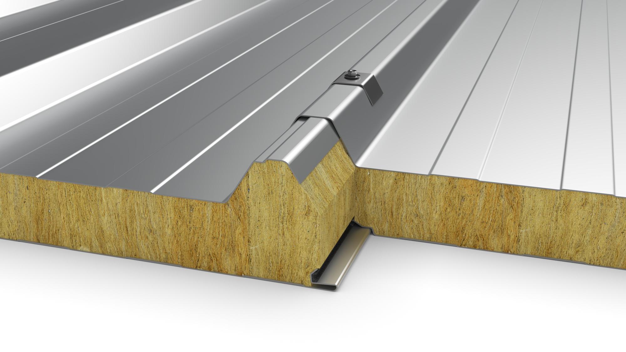 Panneaux Sandwich De Couverture Ondastyl T Pour Toiture Arcelormittal Construction