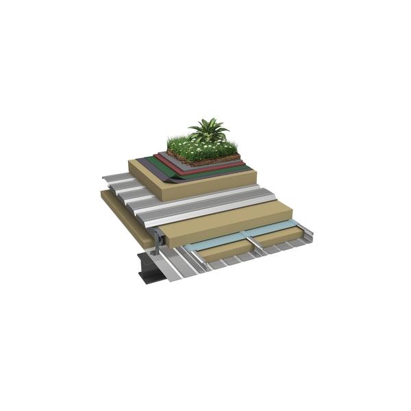 Globalroof® CIN 324PR Vegetalisation