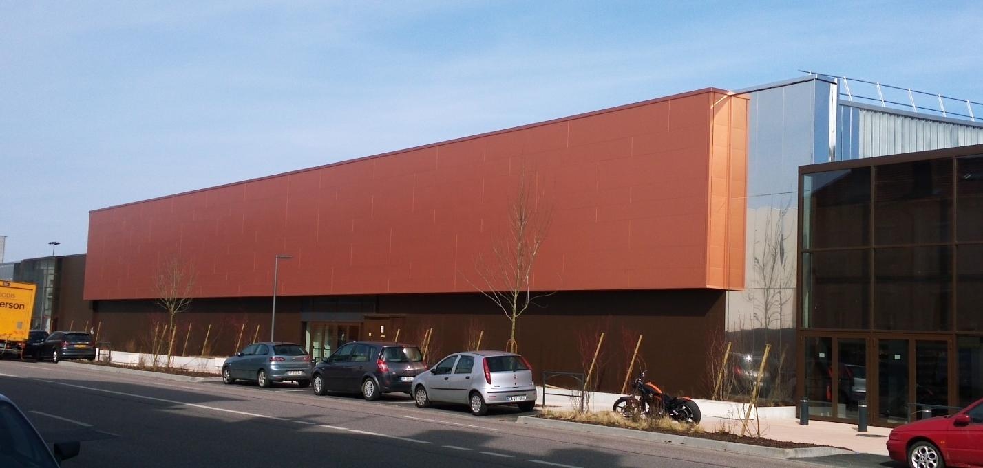Auchan Nancy Centre Commercial Arcelormittal Construction